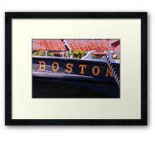 From Boston Framed Print
