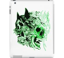 batman vs superman  kryptonite skulls iPad Case/Skin