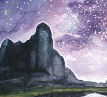 Skyscape - Purple Star Filled Night Sticker