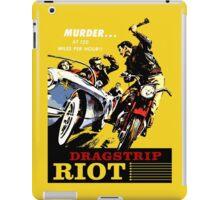 Dragstrip Riot iPad Case/Skin