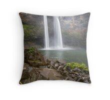 Fantasy Island Falls - Kauai Throw Pillow
