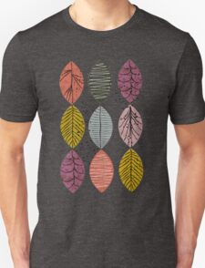Nature Leaves by Seasons Unisex T-Shirt
