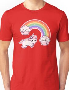 Cute Cupcake Unicorn Unisex T-Shirt