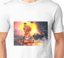 Jimmy Butler On Fire Unisex T-Shirt