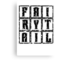 Fairy Tail in the Box Canvas Print