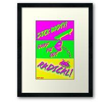 80's Catchphrases Framed Print