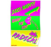 80's Catchphrases Poster