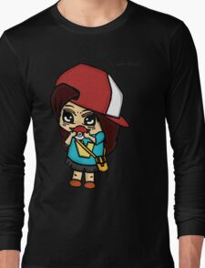 I Got You! Pokemon Trainer Girl (In White Background) Long Sleeve T-Shirt