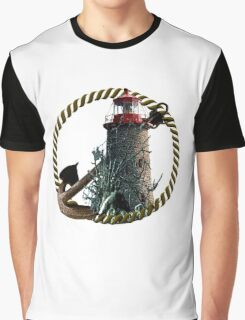 Demise Of The Lighthouse Graphic T-Shirt