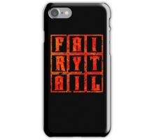 Fairy Tail in the Box - Fire Mode iPhone Case/Skin