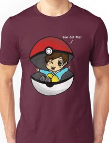You Got You! Pokemon Trainer Boy (In Black Background) Unisex T-Shirt