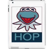 KERMIT MUPPETS MUTANT  HOP POSTER  iPad Case/Skin