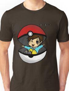 You Got Me! Pokemon Trainer Boy (In White Background) Unisex T-Shirt