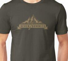 Seven Summits (Brown) Unisex T-Shirt