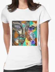 """""""Serenity"""" Womens Fitted T-Shirt"""