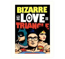 Butcher Billy's Bizarre Love Triangle: The Post-Punk Edition Art Print