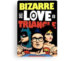 Butcher Billy's Bizarre Love Triangle: The Post-Punk Edition Canvas Print