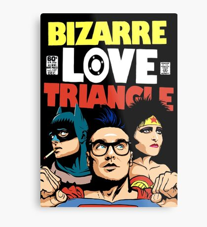 Butcher Billy's Bizarre Love Triangle: The Post-Punk Edition Metal Print