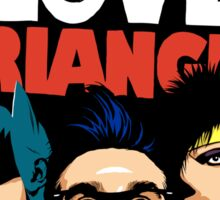 Butcher Billy's Bizarre Love Triangle: The Post-Punk Edition Sticker