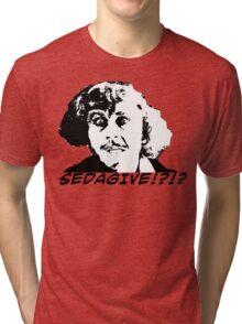 KRW Young Frankenstein Sedagive? Tri-blend T-Shirt