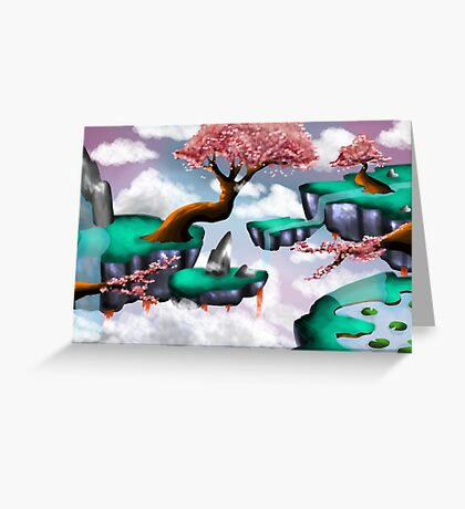 surreal landscape Greeting Card