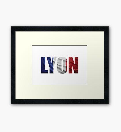 Lyon Framed Print