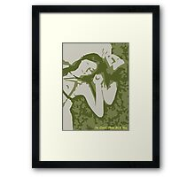 I'm Good, Here with You. Framed Print