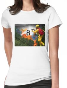 Mishap in the Canister Womens Fitted T-Shirt
