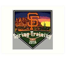 San Francisco Giants Spring Training 2016 Art Print