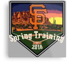 San Francisco Giants Spring Training 2016 Metal Print