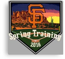 San Francisco Giants Spring Training 2016 Canvas Print