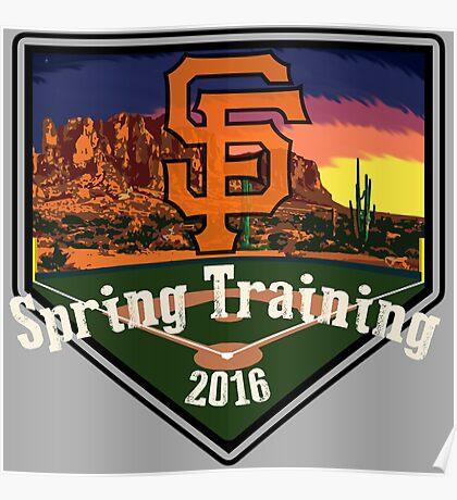 San Francisco Giants Spring Training 2016 Poster