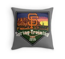 San Francisco Giants Spring Training 2016 Throw Pillow