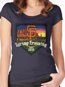 San Francisco Giants Spring Training 2016 Women's Fitted Scoop T-Shirt