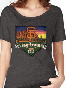 San Francisco Giants Spring Training 2016 Women's Relaxed Fit T-Shirt
