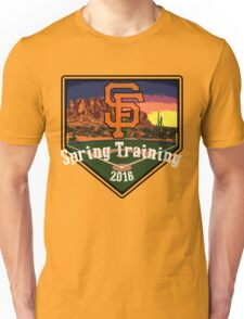 San Francisco Giants Spring Training 2016 Unisex T-Shirt