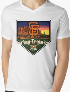 San Francisco Giants Spring Training 2016 Mens V-Neck T-Shirt