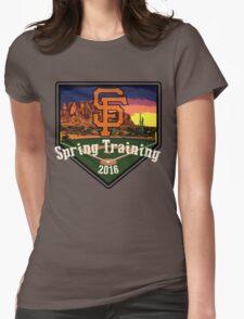 San Francisco Giants Spring Training 2016 Womens Fitted T-Shirt