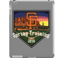 San Francisco Giants Spring Training 2016 iPad Case/Skin