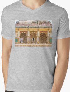 Three Doors Mens V-Neck T-Shirt