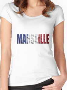 Marseille Women's Fitted Scoop T-Shirt