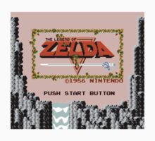 The Legend of Zelda - Title Screen One Piece - Long Sleeve