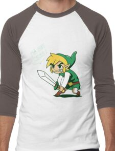 Link - I'm Not Zelda Men's Baseball ¾ T-Shirt