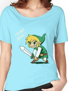 Link - I'm Not Zelda Women's Relaxed Fit T-Shirt