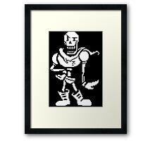 Undertale - Papyrus Framed Print