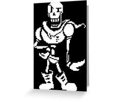 Undertale - Papyrus Greeting Card