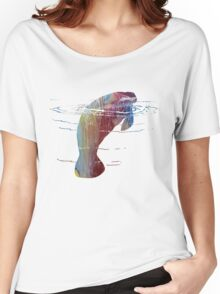 Manatee  Women's Relaxed Fit T-Shirt