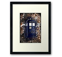 Police Box Tardis ~ Dr. Who Framed Print