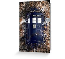 Police Box Tardis ~ Dr. Who Greeting Card