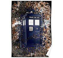 Police Box Tardis ~ Dr. Who Poster